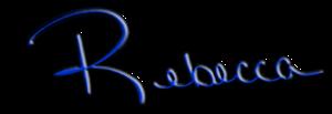 Rebecca signatureblue